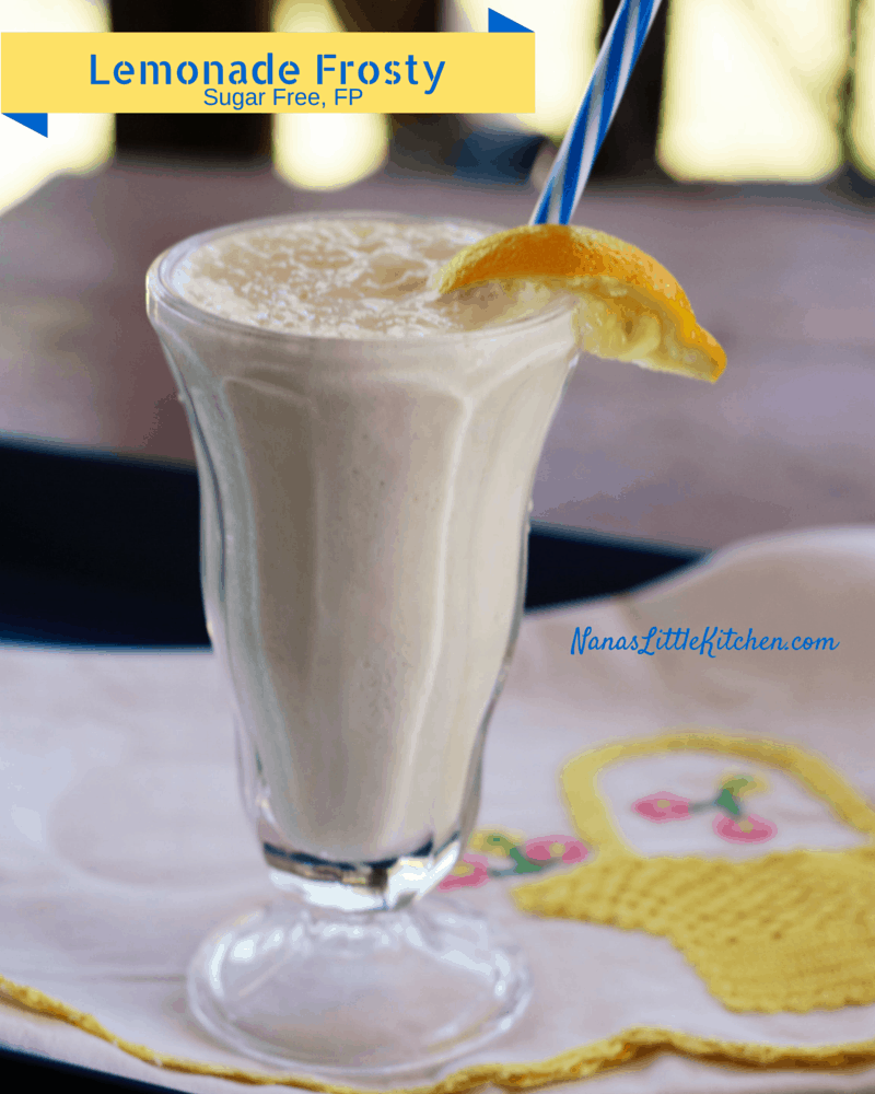 Sugar Free Lemonade Frosty (FP)