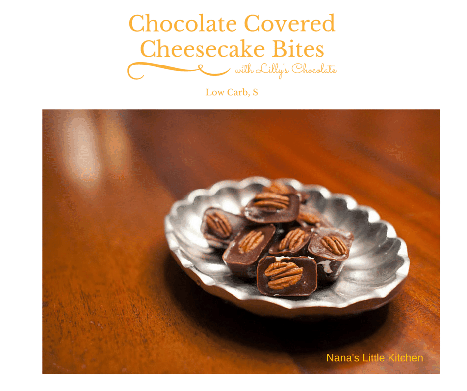 Chocolate Covered Cheesecake Bites (Low Carb, Sugar Free ...
