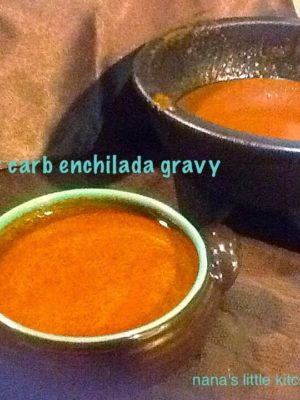 Low Carb Enchilada Gravy