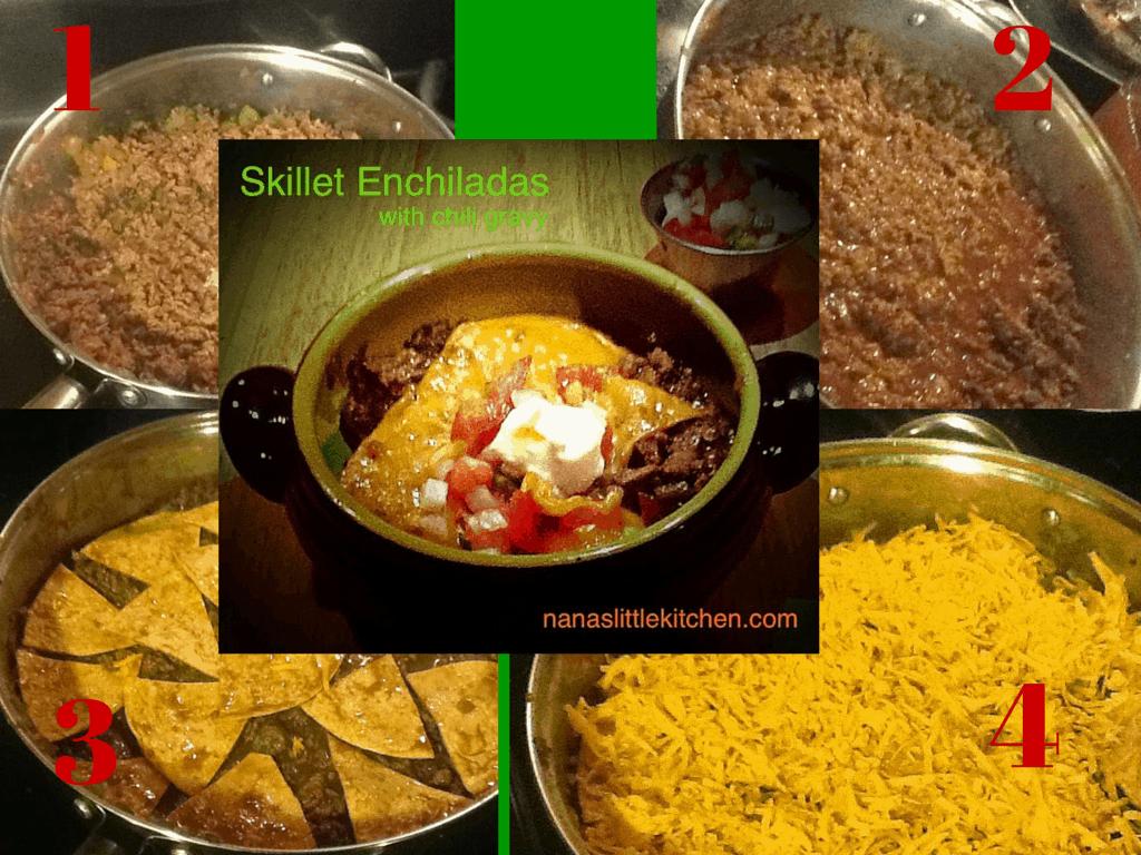 Low Carb Skillet Enchiladas