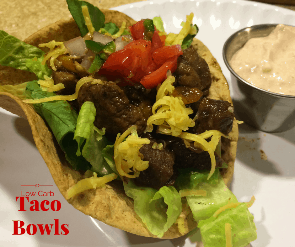 Low Carb Salad Bowls