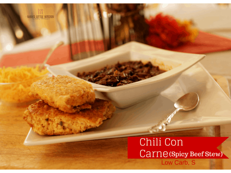 Chili Con Carne Spicy Beef Stew