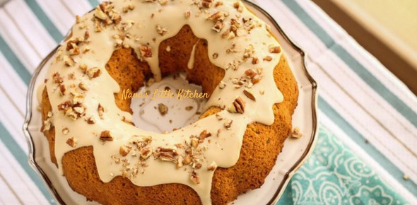 Pumpkin Maple Spice Cake