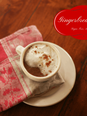 Sugar Free Gingerbread Latte (Low Carb)