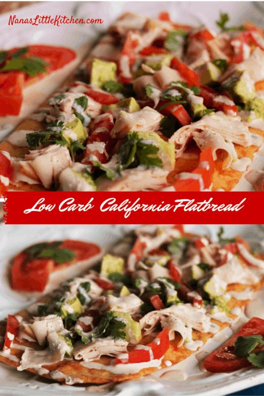 Low Carb California Flat Bread