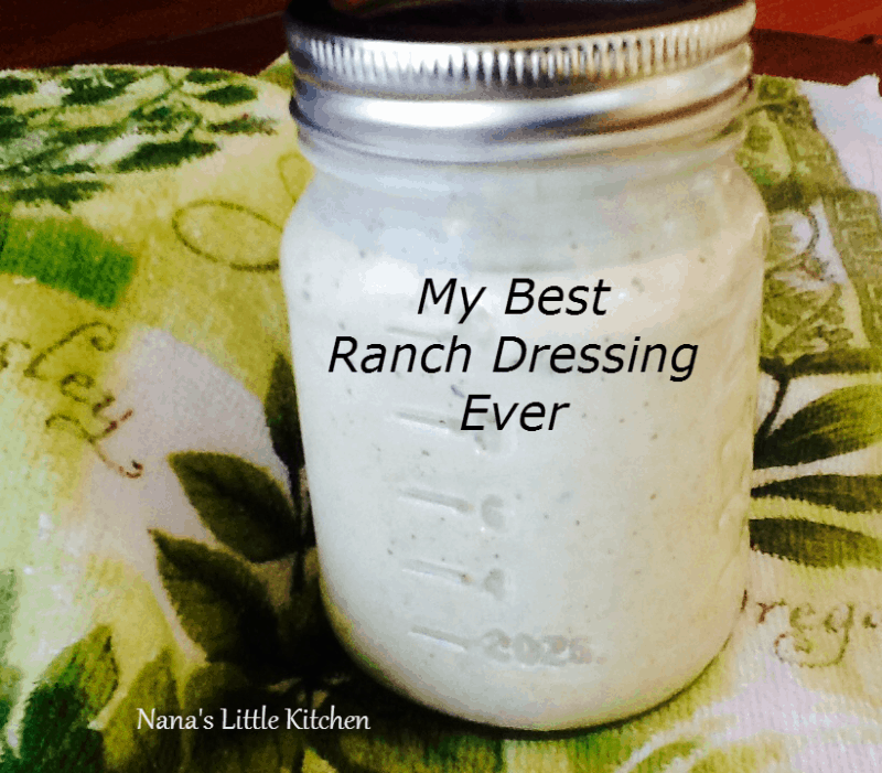 Low Carb Chipotle Ranch Salad Dressing - Nana's Little Kitchen