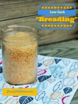 "Low Carb ""Breading"""