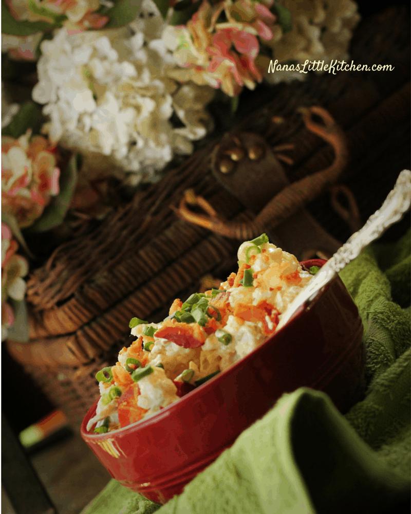 Loaded Sour Cream No-Tato Salad