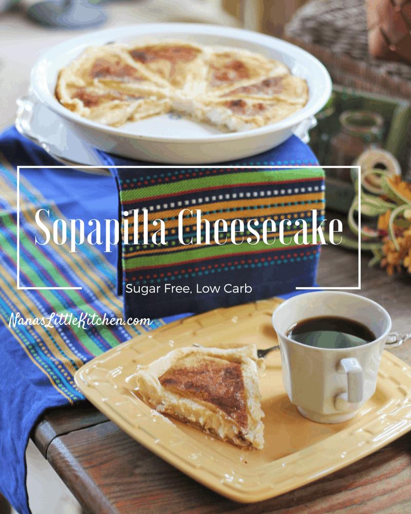 Sugar Free Sopapilla Cheesecake