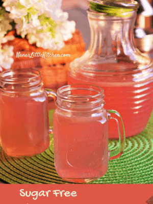 Sugar Free Pink Lemonade