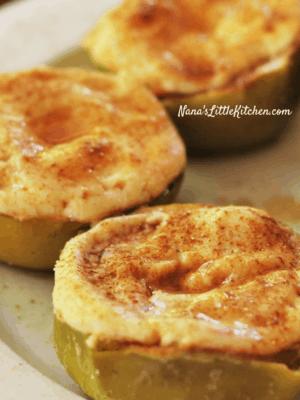 Cinnamon Apple Cheesecakes