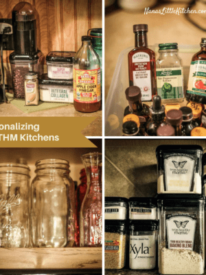 Functionalizing Small THM Kitchens