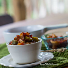 Creole Style Stewed Okra And Tomatoes
