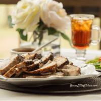 Greek Style Roasted Pork Loin