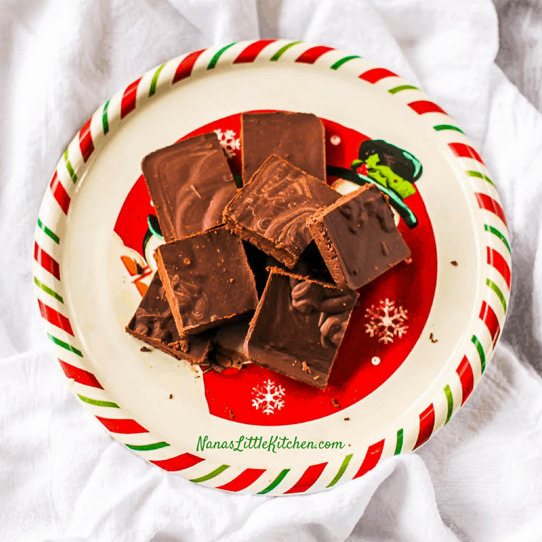 Sugar Free Thin Mint Fudge