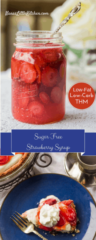 Easy Breezy Strawberry Syrup