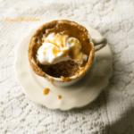 Dulce de Leche Spiced Mug Cake