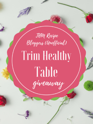 THM Recipe Bloggers Trim Table Giveaway